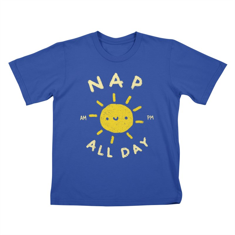 All Day Kids T-Shirt by Luis Romero
