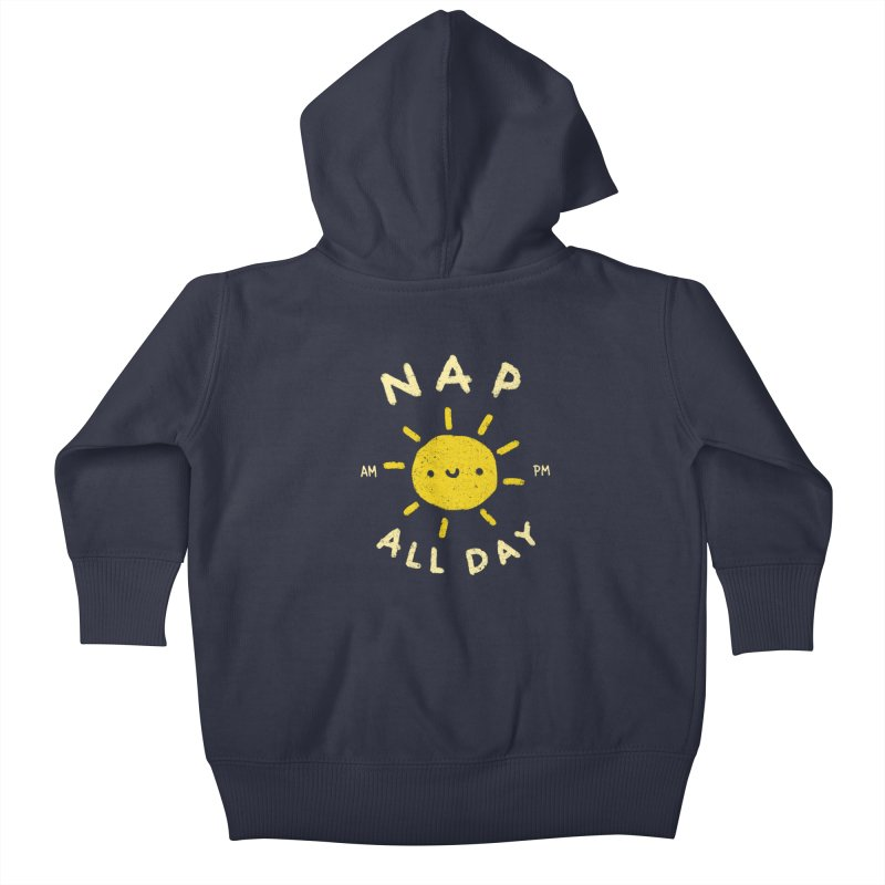 All Day Kids Baby Zip-Up Hoody by Luis Romero Shop