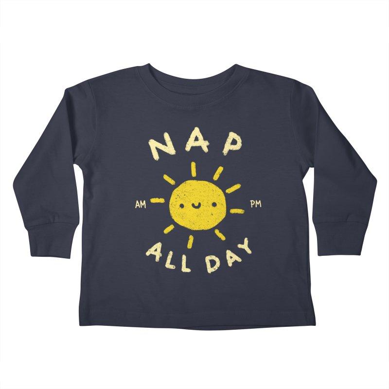 All Day Kids Toddler Longsleeve T-Shirt by Luis Romero Shop