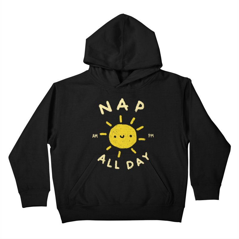 All Day Kids Pullover Hoody by Luis Romero Shop