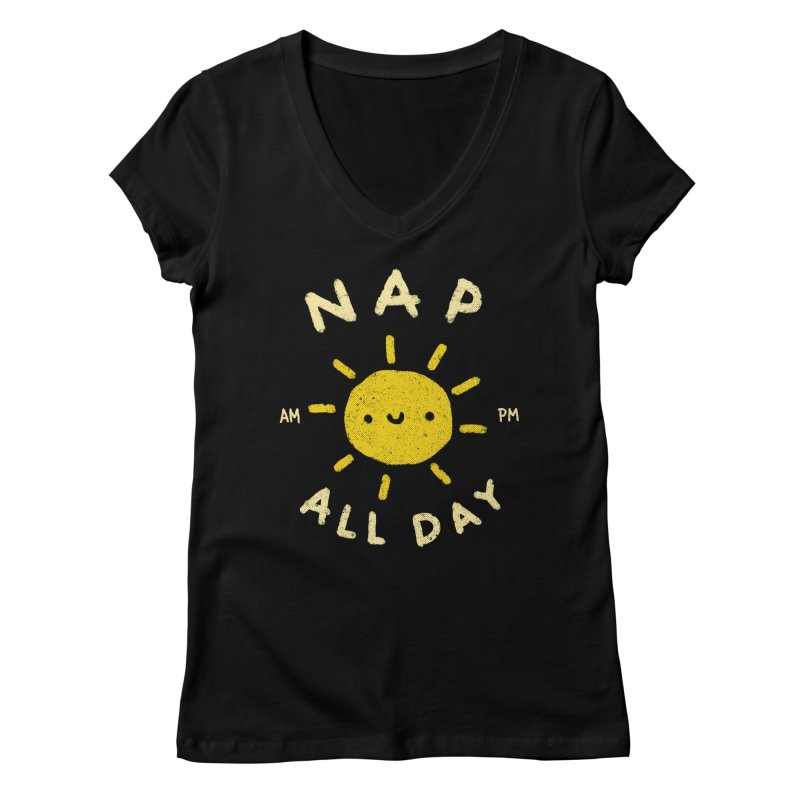 All Day Women's Regular V-Neck by Luis Romero Shop