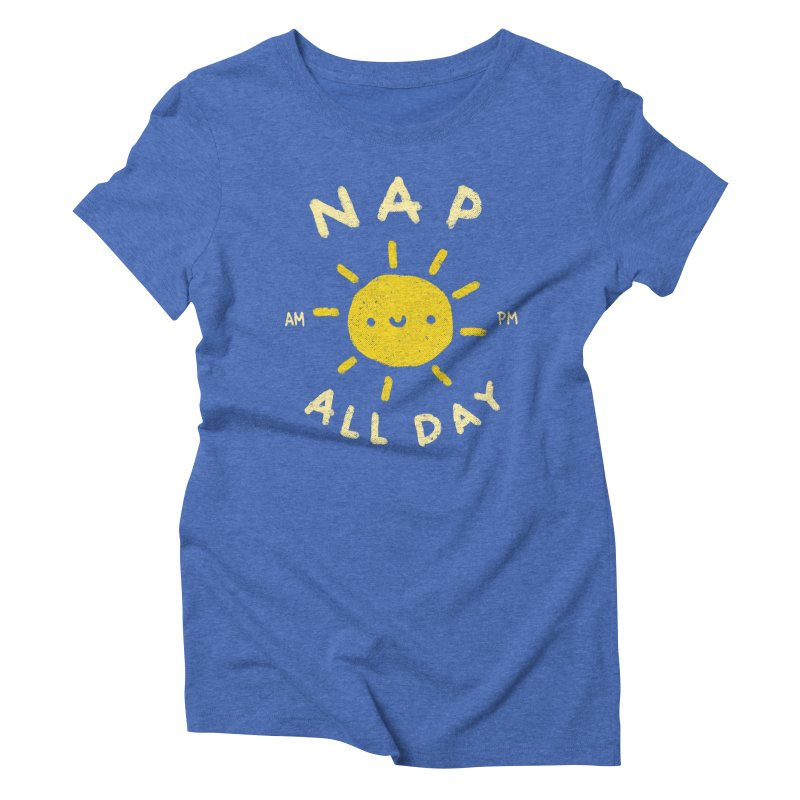 All Day Women's Triblend T-Shirt by Luis Romero