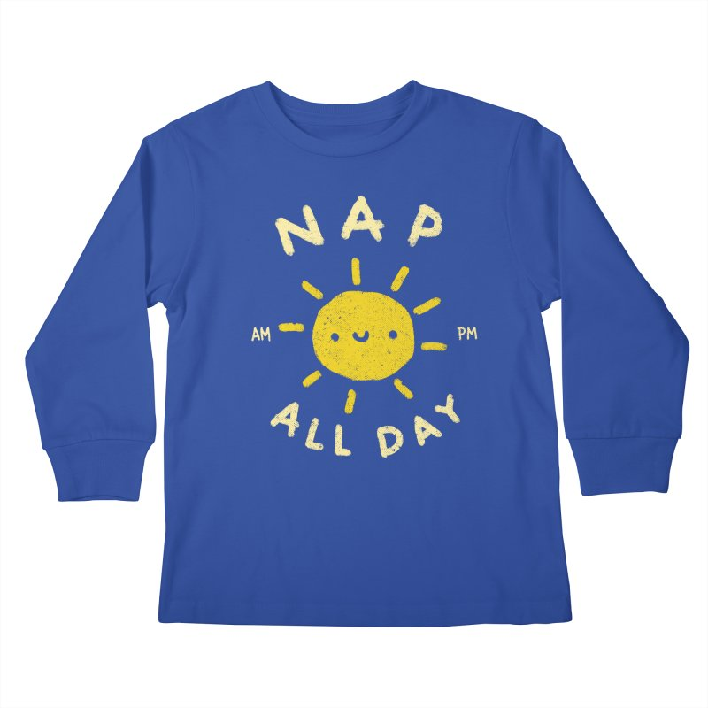 All Day Kids Longsleeve T-Shirt by Luis Romero