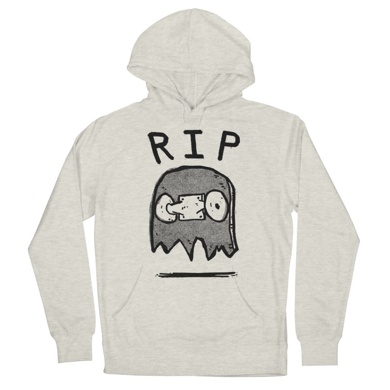 RIP Men's French Terry Pullover Hoody by Luis Romero