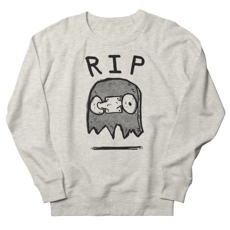 RIP Men's French Terry Sweatshirt by Luis Romero