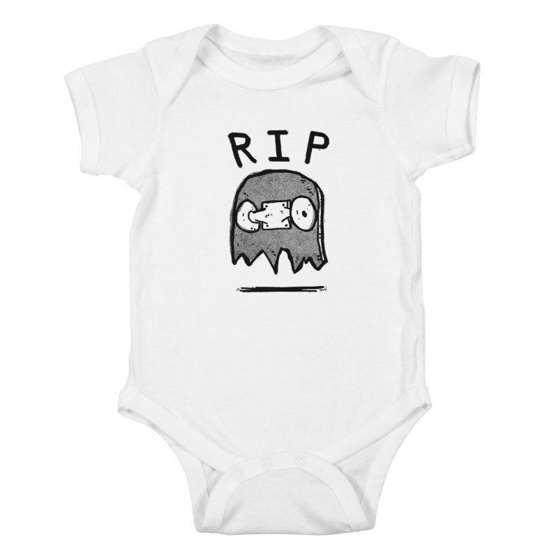 RIP Kids Baby Bodysuit by Luis Romero Shop