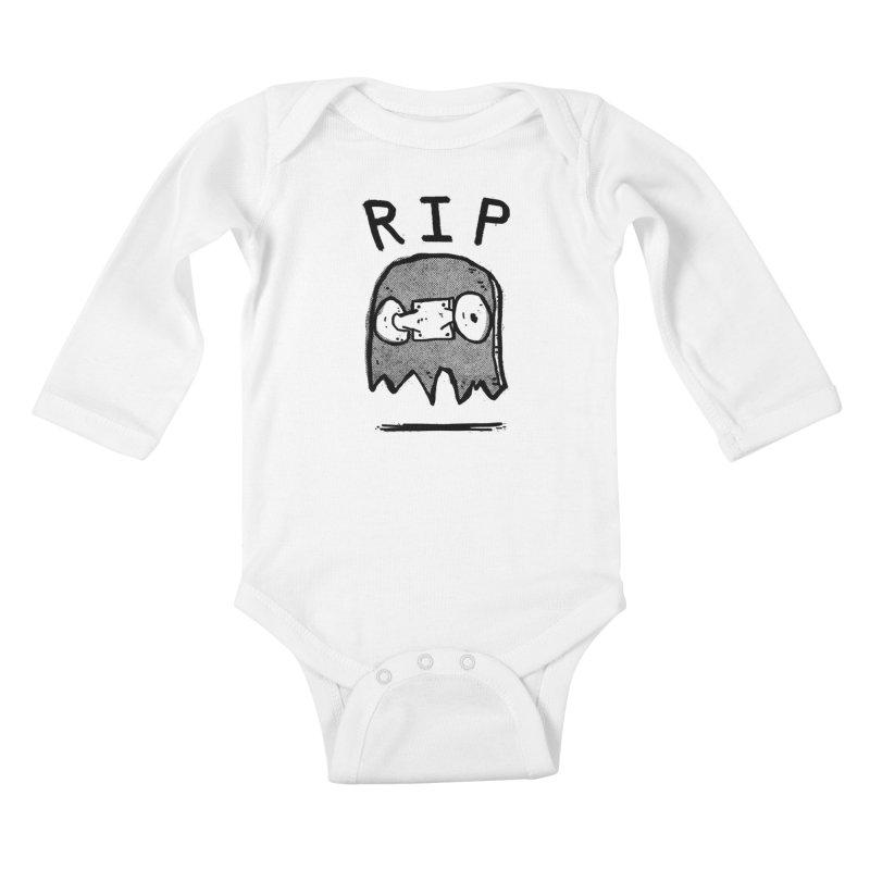 RIP Kids Baby Longsleeve Bodysuit by Luis Romero Shop