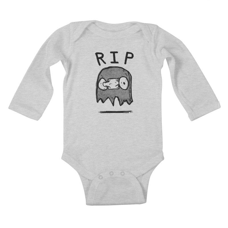 RIP Kids Baby Longsleeve Bodysuit by Luis Romero