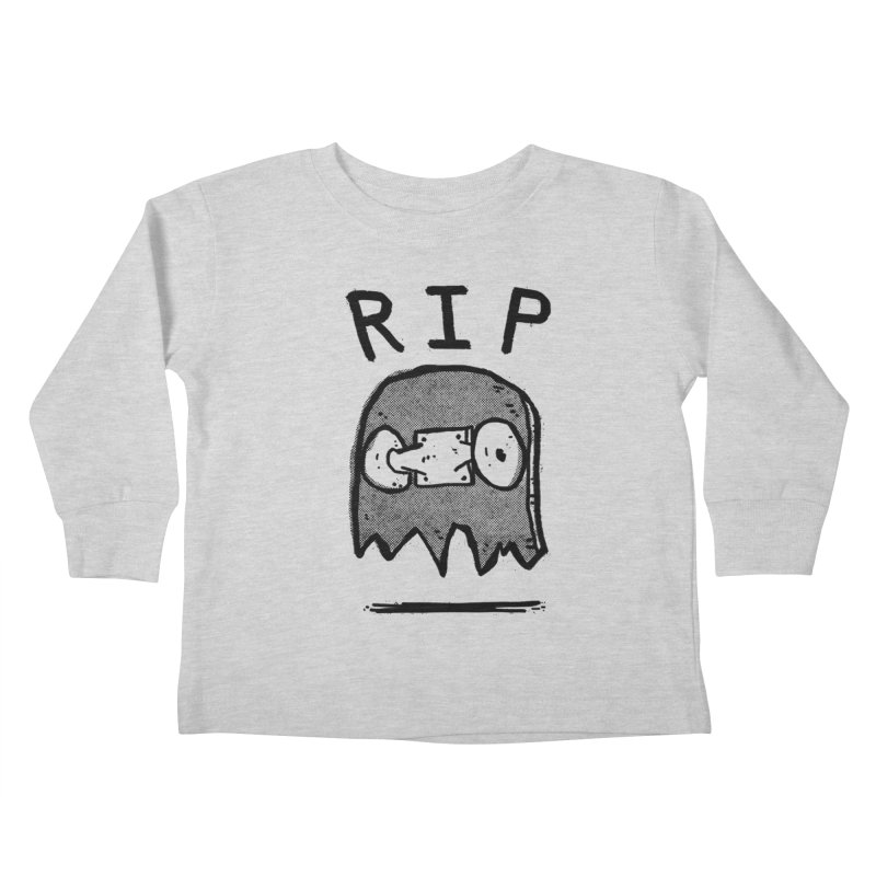 RIP Kids Toddler Longsleeve T-Shirt by Luis Romero