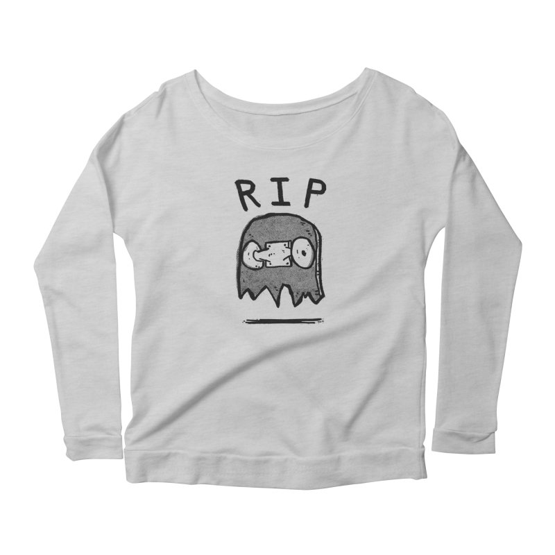 RIP Women's Scoop Neck Longsleeve T-Shirt by Luis Romero Shop