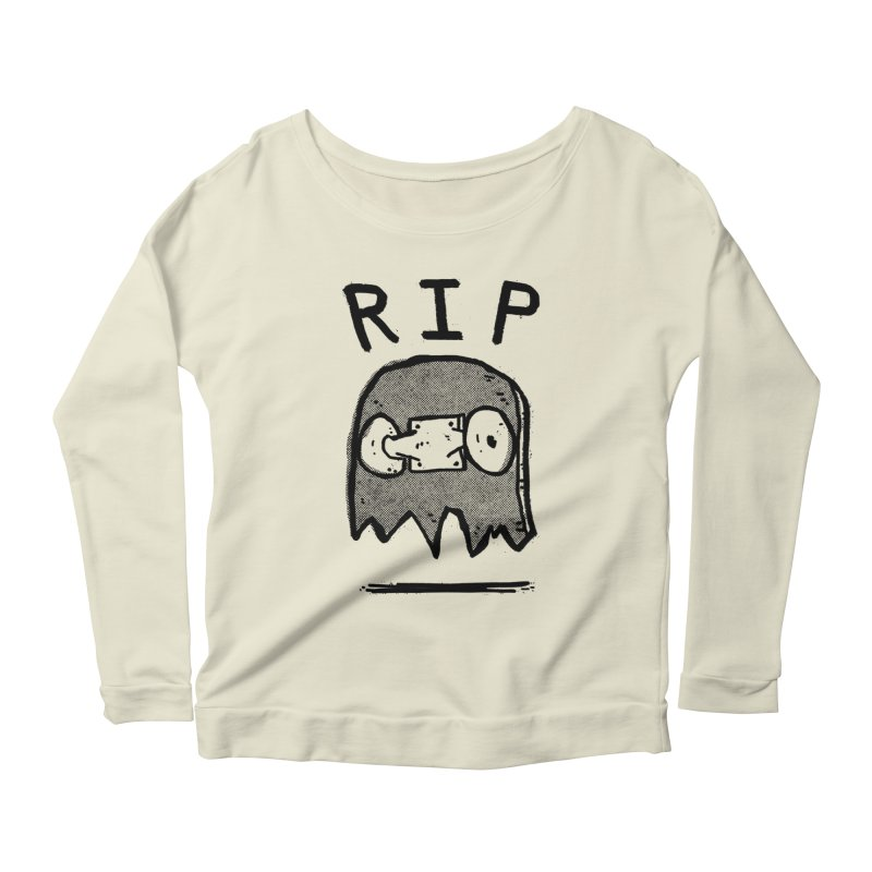 RIP Women's Scoop Neck Longsleeve T-Shirt by Luis Romero Shop