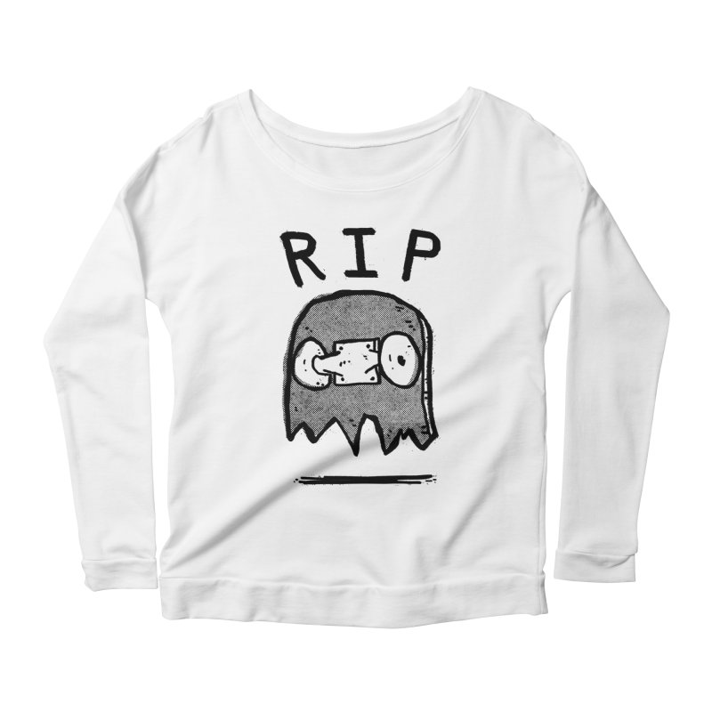 RIP Women's Scoop Neck Longsleeve T-Shirt by Luis Romero