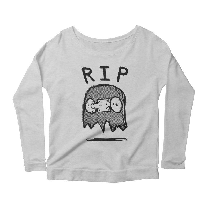 RIP Women's Scoop Neck Longsleeve T-Shirt by Luis Romero