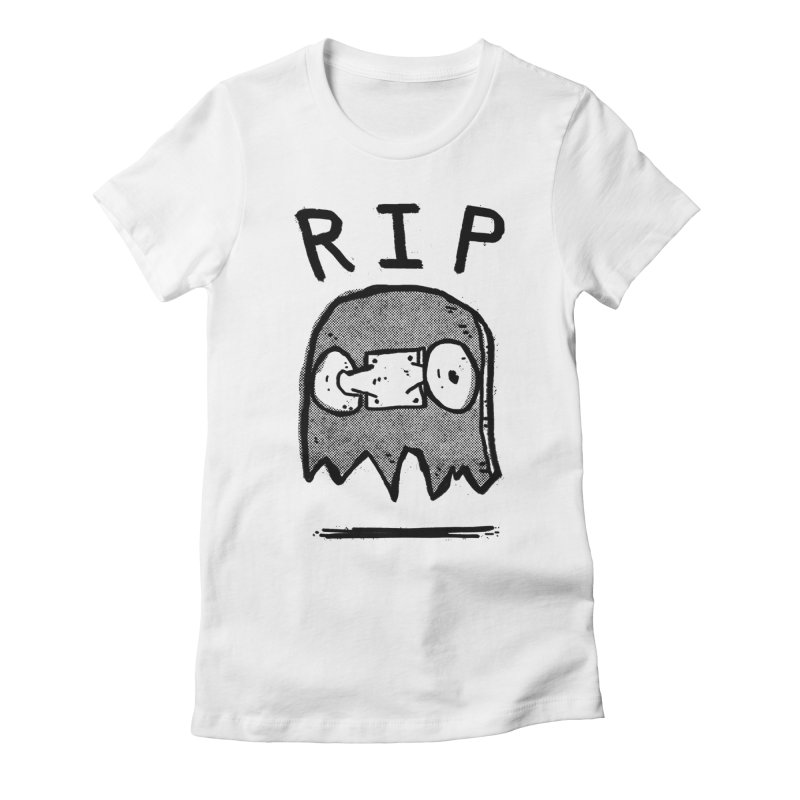 RIP Women's Fitted T-Shirt by Luis Romero Shop