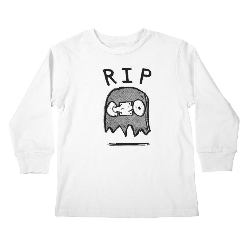RIP Kids Longsleeve T-Shirt by Luis Romero