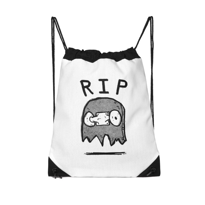 RIP Accessories Drawstring Bag Bag by Luis Romero Shop
