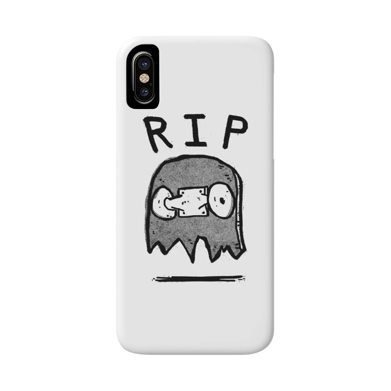 RIP Accessories Phone Case by Luis Romero