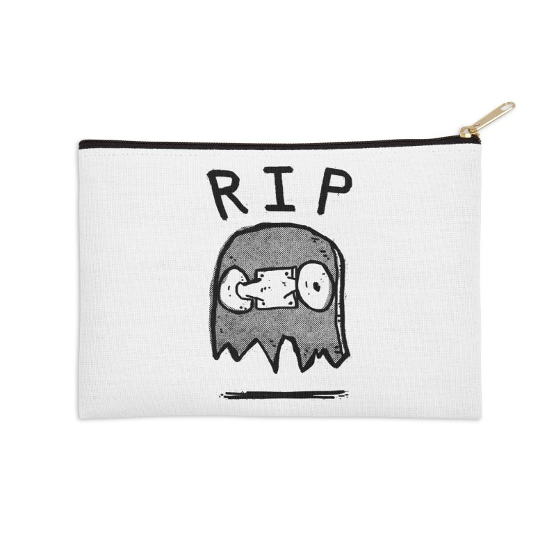 RIP Accessories Zip Pouch by Luis Romero
