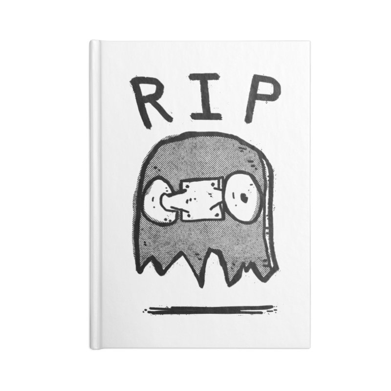 RIP Accessories Blank Journal Notebook by Luis Romero Shop