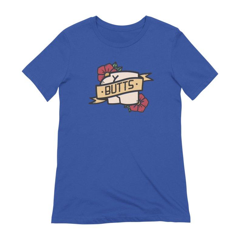 Butts Women's Extra Soft T-Shirt by Luis Romero Shop