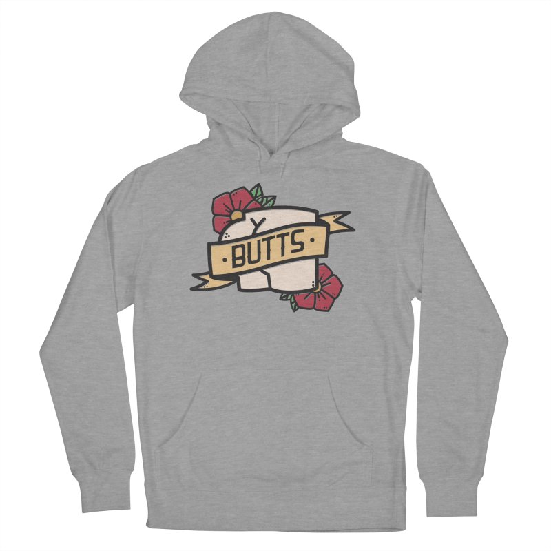 Butts Women's French Terry Pullover Hoody by Luis Romero Shop