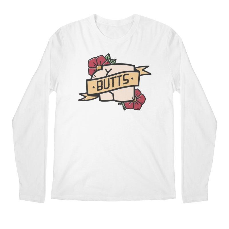 Butts Men's Regular Longsleeve T-Shirt by Luis Romero Shop