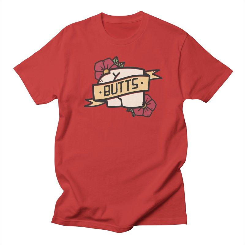 Butts Men's Regular T-Shirt by Luis Romero Shop