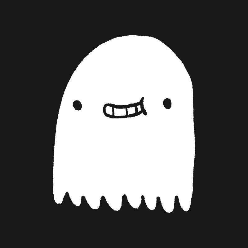 Ghost Women's Zip-Up Hoody by Luis Romero Shop