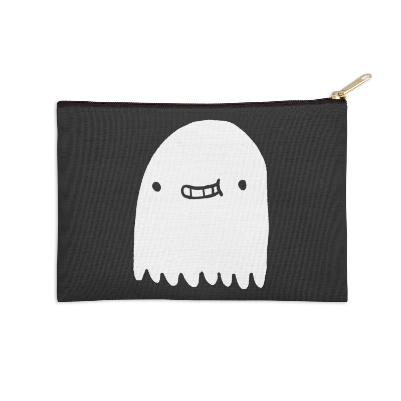Ghost Accessories Zip Pouch by Luis Romero Shop