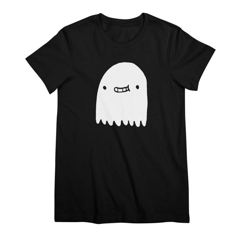 Ghost Women's Premium T-Shirt by Luis Romero Shop