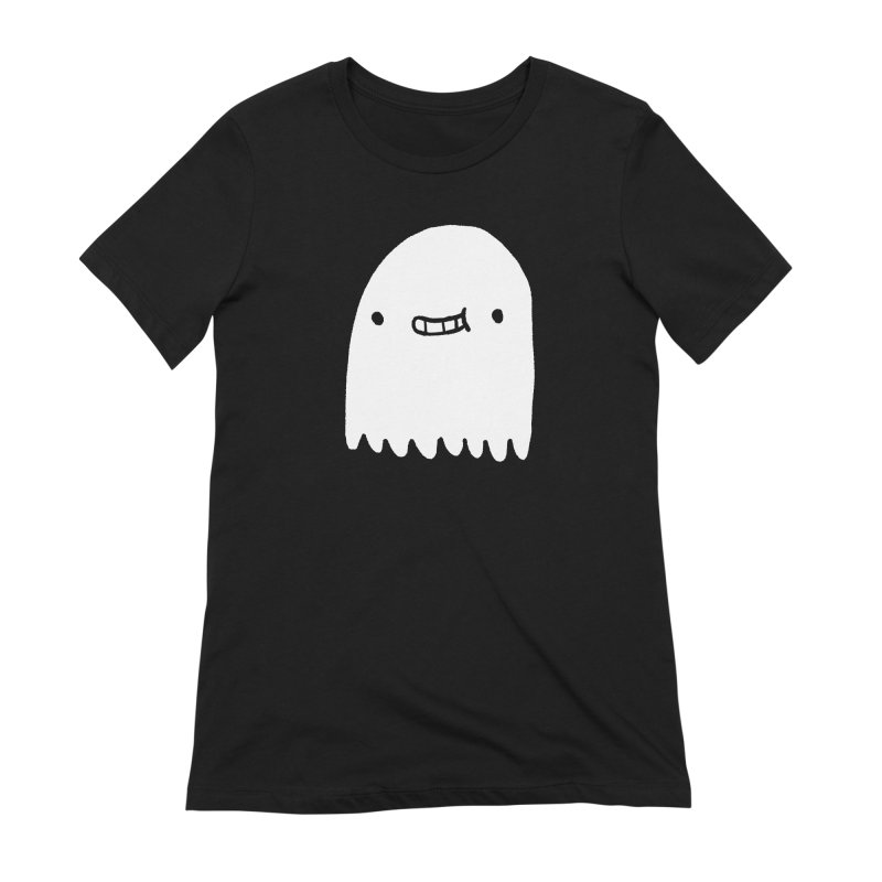 Ghost Women's Extra Soft T-Shirt by Luis Romero Shop