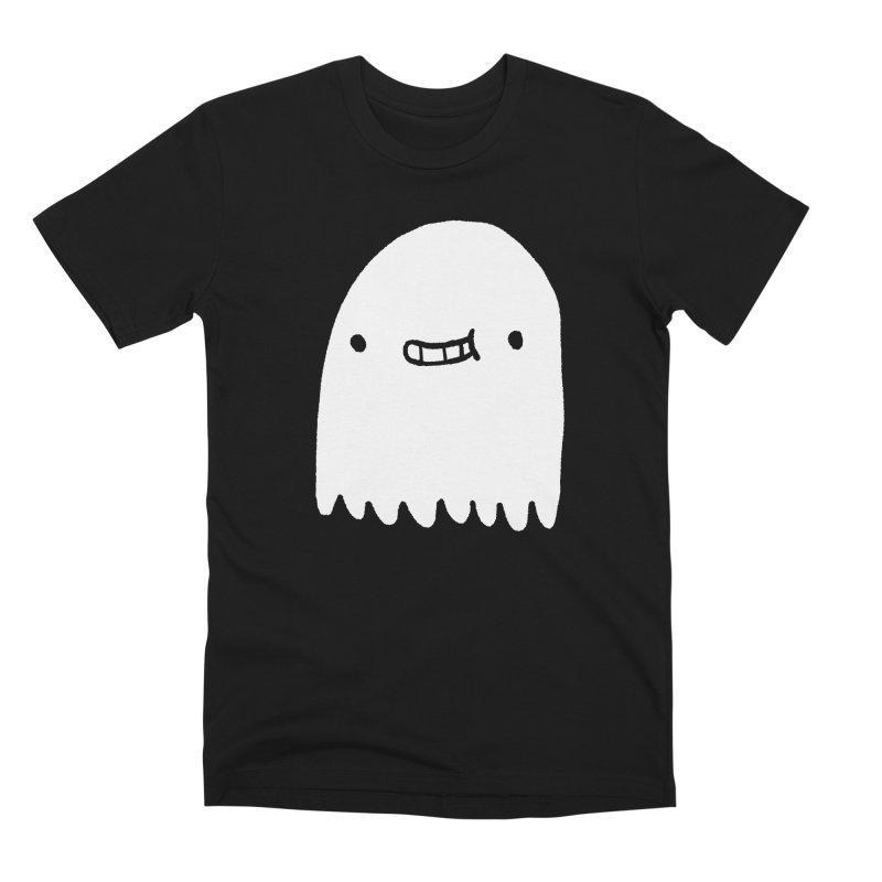 Ghost Men's Premium T-Shirt by Luis Romero Shop
