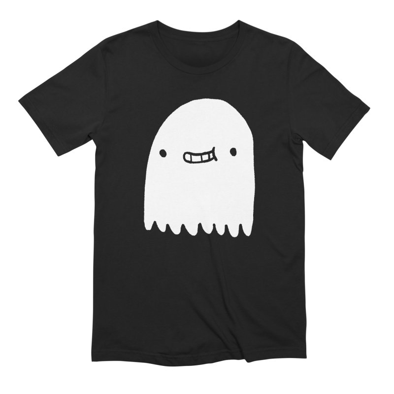 Ghost Men's Extra Soft T-Shirt by Luis Romero Shop