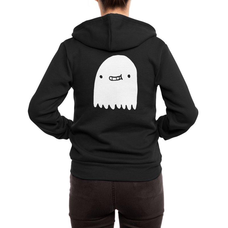 Ghost Women's Zip-Up Hoody by Luis Romero