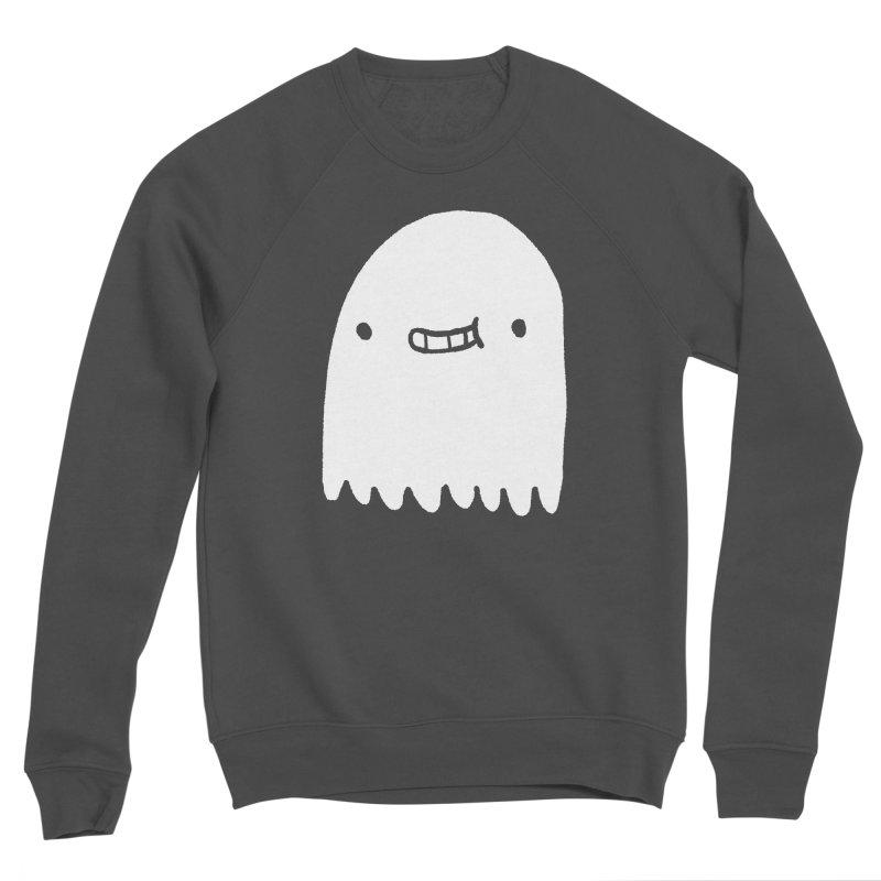 Ghost Men's Sponge Fleece Sweatshirt by Luis Romero Shop