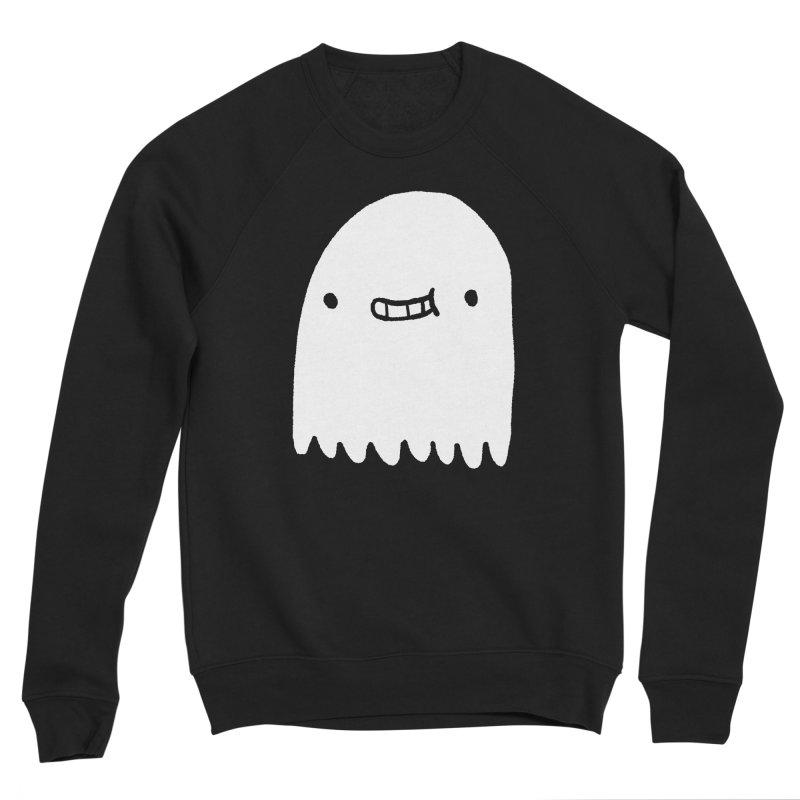 Ghost Women's Sponge Fleece Sweatshirt by Luis Romero Shop