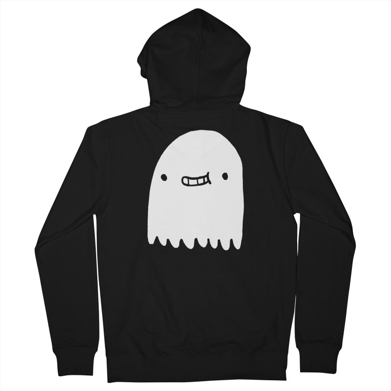 Ghost Women's French Terry Zip-Up Hoody by Luis Romero Shop