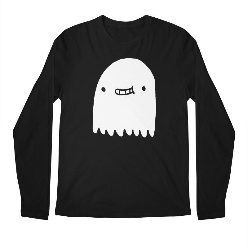 Ghost Men's Regular Longsleeve T-Shirt by Luis Romero Shop