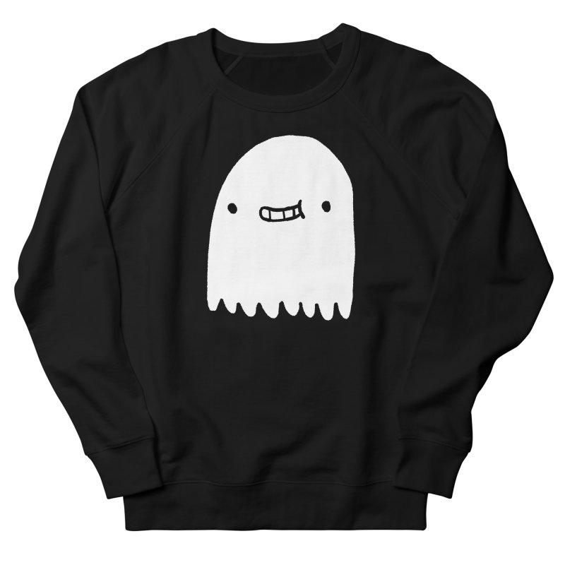 Ghost Men's French Terry Sweatshirt by Luis Romero Shop
