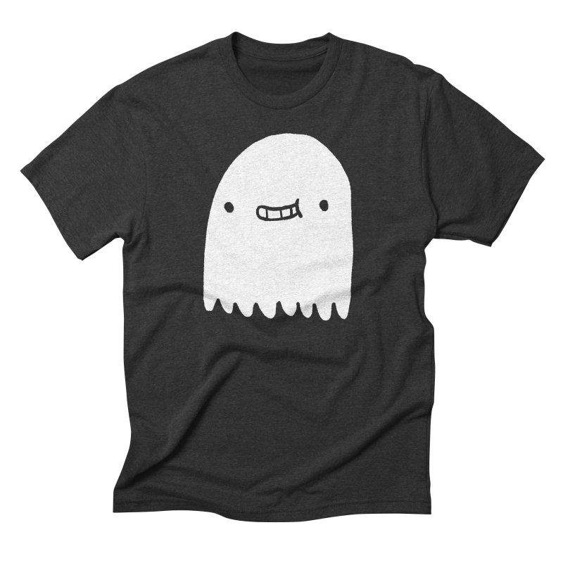 Ghost Men's Triblend T-Shirt by Luis Romero Shop