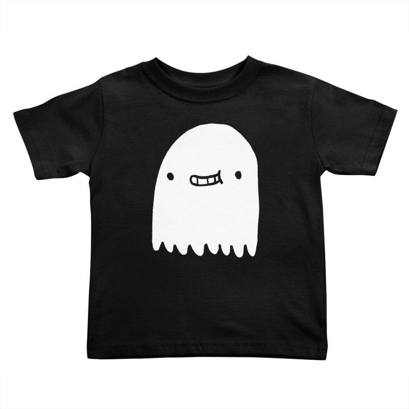 Ghost Kids Toddler T-Shirt by Luis Romero