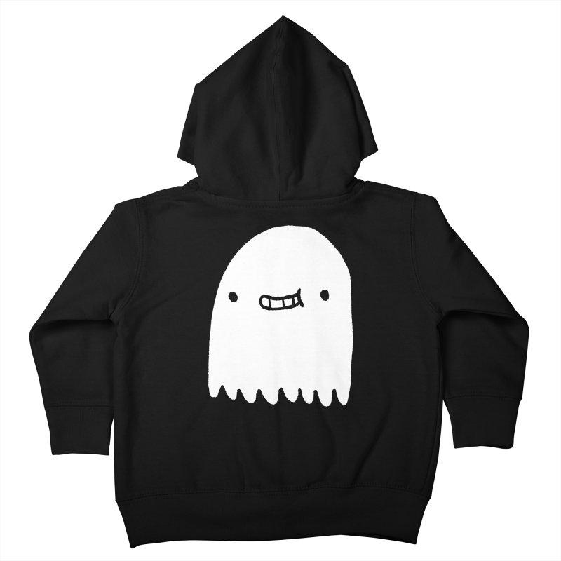 Ghost Kids Toddler Zip-Up Hoody by Luis Romero Shop