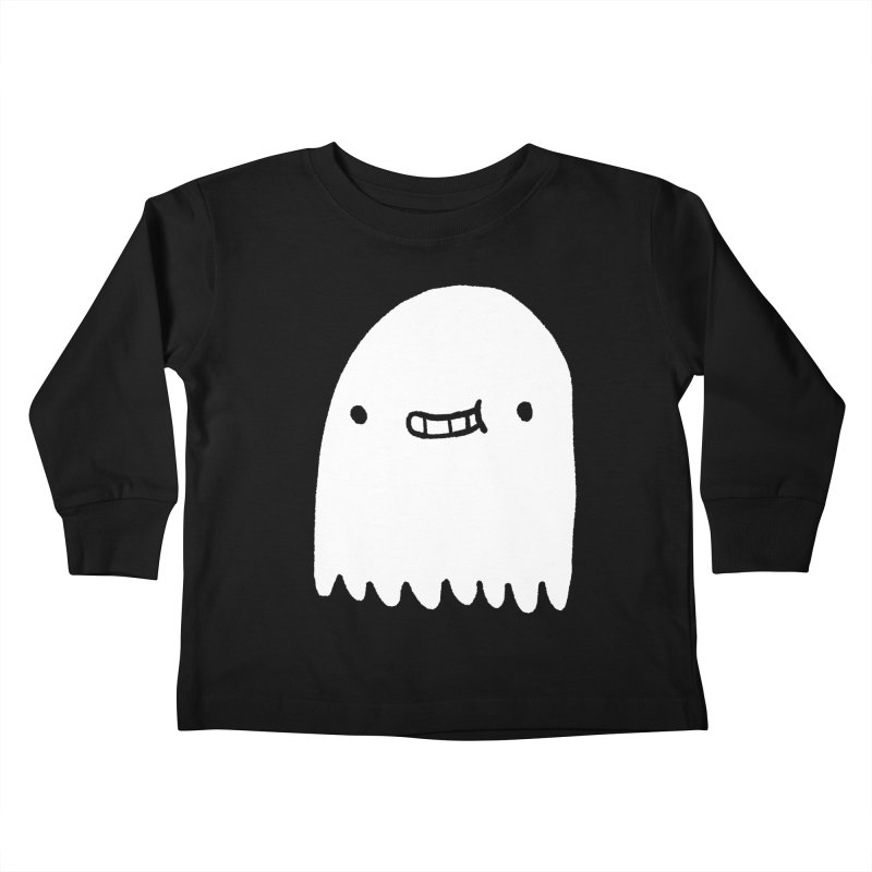 Ghost Kids Toddler Longsleeve T-Shirt by Luis Romero Shop