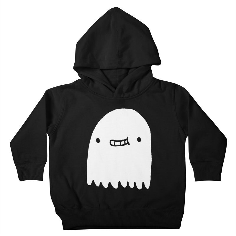 Ghost Kids Toddler Pullover Hoody by Luis Romero Shop
