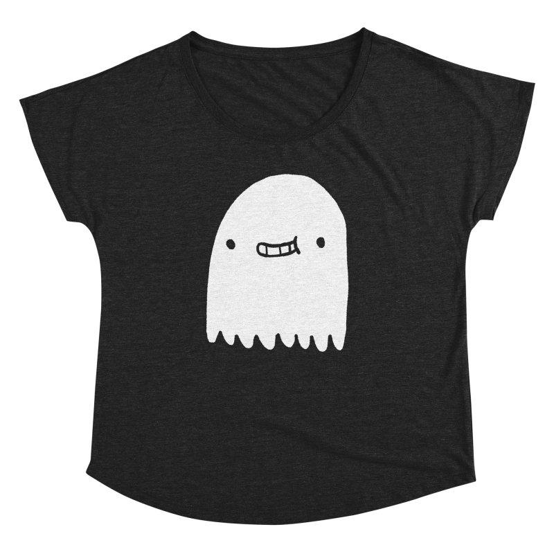 Ghost Women's Dolman Scoop Neck by Luis Romero Shop