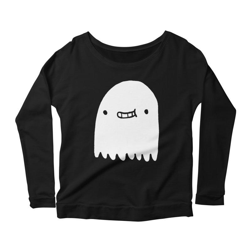 Ghost Women's Scoop Neck Longsleeve T-Shirt by Luis Romero Shop
