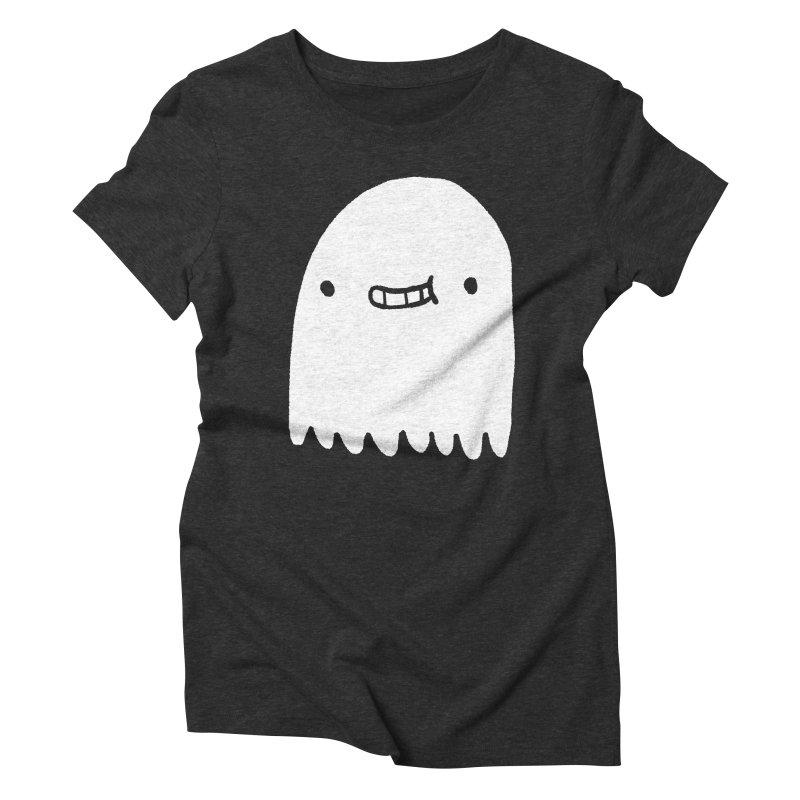 Ghost Women's Triblend T-Shirt by Luis Romero Shop