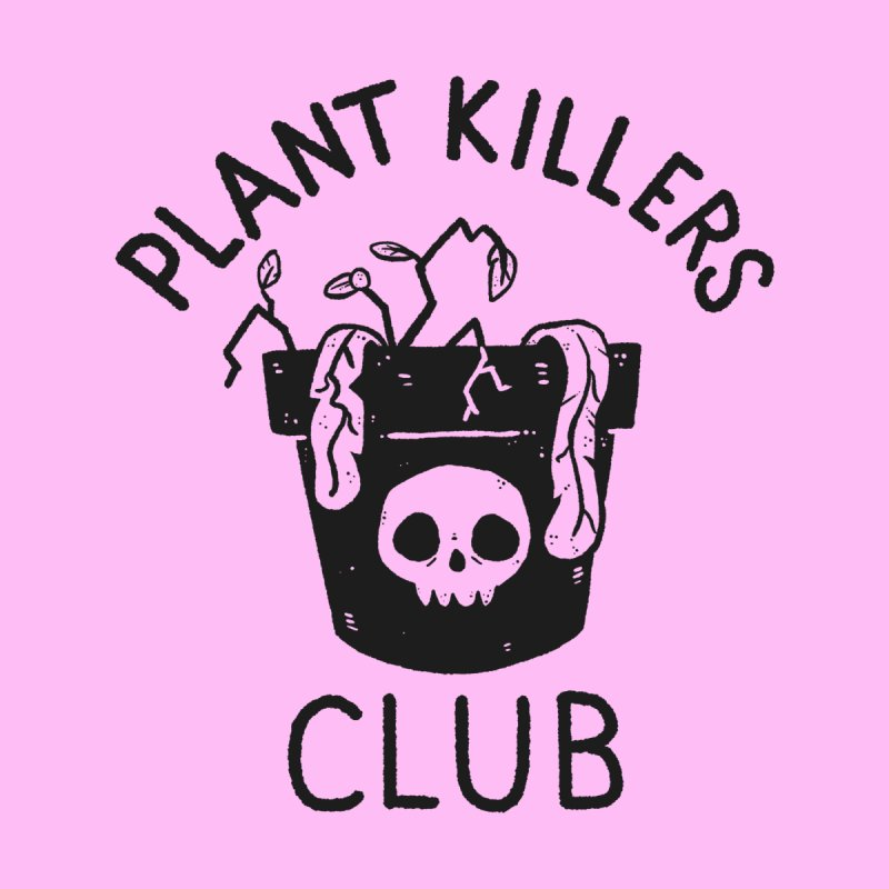 Plant Killers Club Kids Toddler Longsleeve T-Shirt by Luis Romero