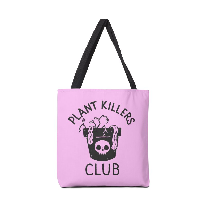 Plant Killers Club Accessories Bag by Luis Romero