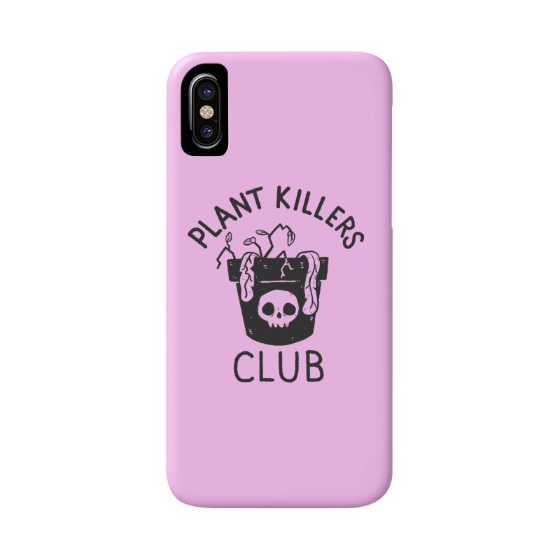 Plant Killers Club Accessories Phone Case by Luis Romero